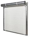 roll up shed door model 750 certified wind rated